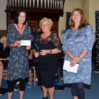Charity donations from Joan Symons, President of the St Ives Rotary Club