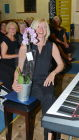 An orchid for accompanist Alison Ashby